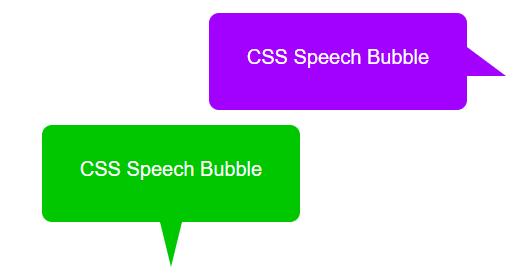 Css Speech Bubble Generator Css Arrow